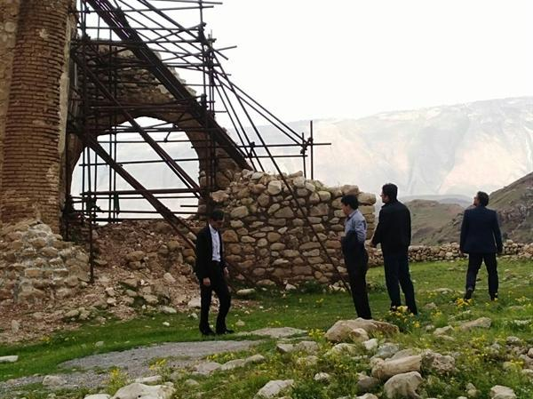 اعلام میزان خسارت های واردشده به آثار تاریخی ایلام به مدیریت بحران، آغاز مرمت پیش از اختصاص بودجه