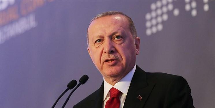 اردوغان: آمریکا بیش از 30 هزار کامیون سلاح به سوریه ارسال نموده است