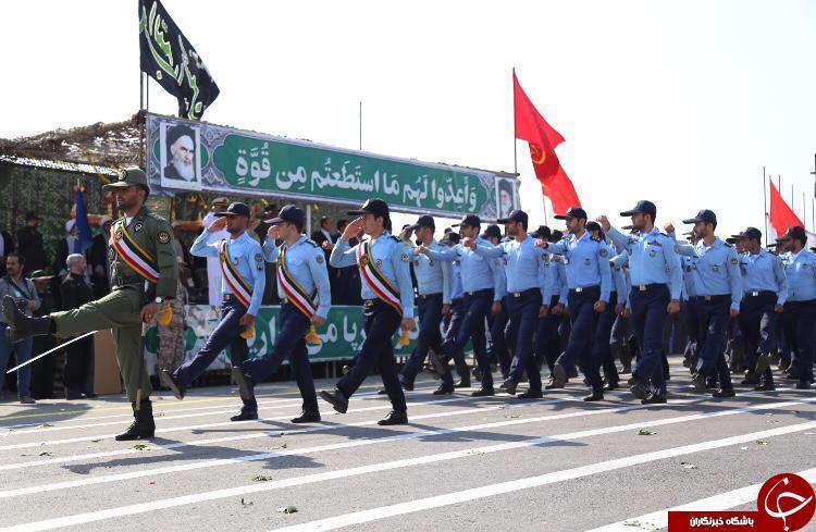 نمایش اقتدار نیروهای مسلح بوشهر در ساحل خلیج فارس