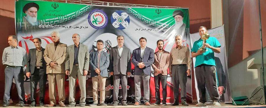 تهران قهرمان مسابقات مچ اندازی کارگران کشور شد