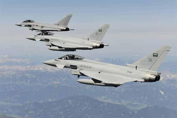 حملات جنگنده های سعودی به صعده یمن