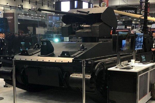 رونمایی از نفربرهای خودران رباتیک با دید 360 درجه