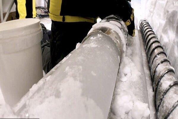هوای سال 1870 میلادی در قطب جنوب به دام افتاد!
