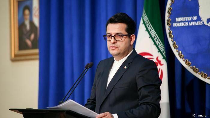 سخنگوی وزارت خارجه ایران حمله تروریستی به مراسم شهید مزاری را محکوم کرد