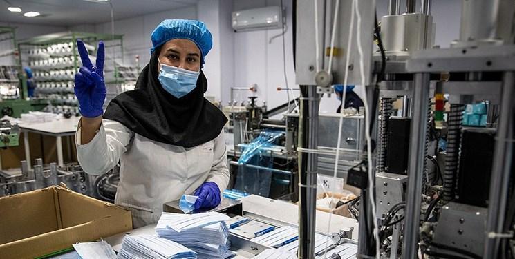 برطرف گلوگاه دستگاه های دوخت ودوز ماسک نانویی با توافق وزارت بهداشت