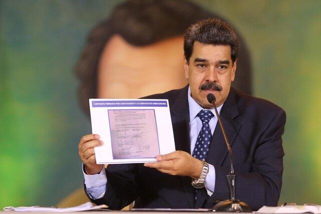 واشنگتن پست: اپوزیسیون ونزوئلا به کمک یک کمپانی آمریکا برای سرنگونی مادورو برنامه داشتند