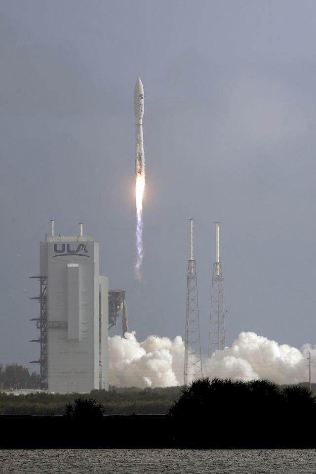 هواپیمای فضایی مرموز آمریکا به فضا رفت