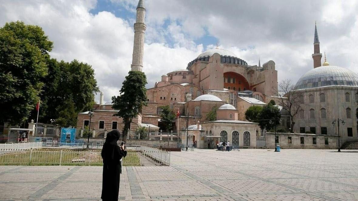 خبرنگاران ایاصوفیه ترکیه بار دیگر مسجد شد